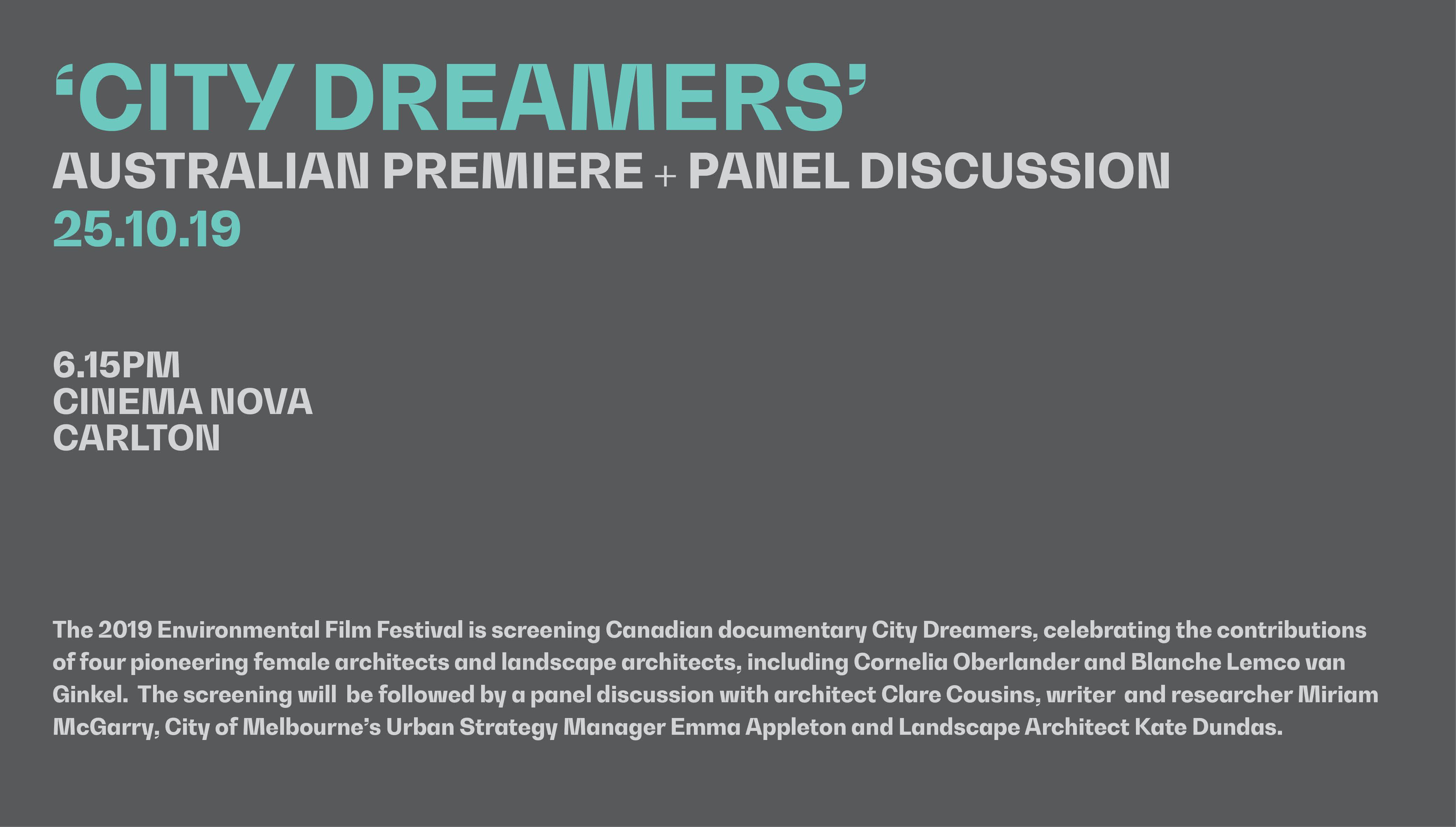 'City Dreamers'