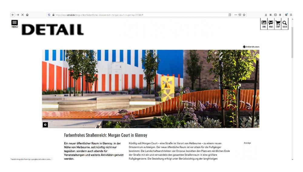 Detail Magazine online