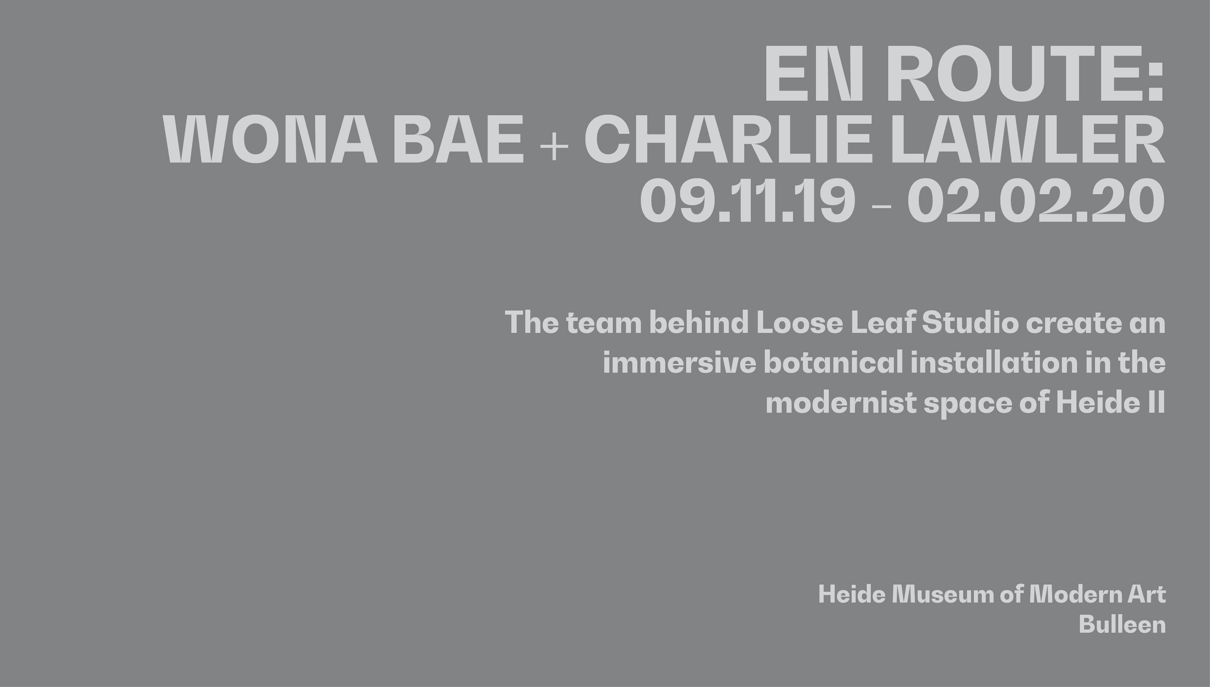 'EN ROUTE' at Heide MoMA