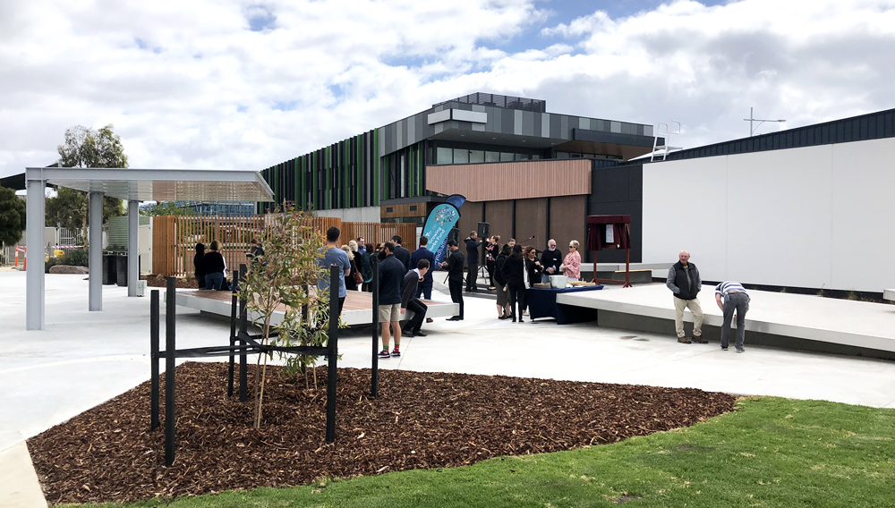 Saltwater Community Centre Youth Space Opening